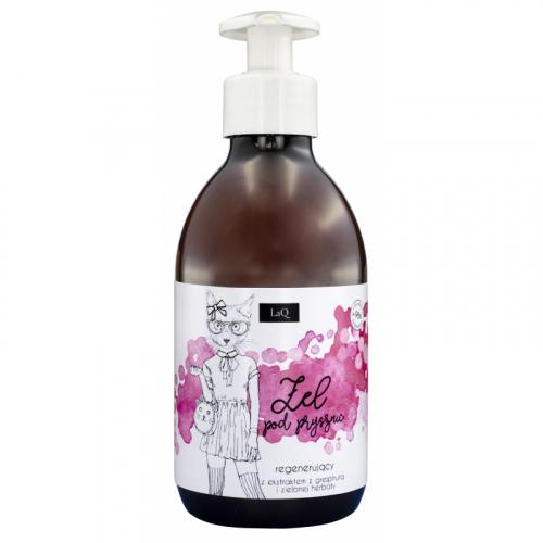 LaQ - Regenerujący żel pod prysznic z ekstraktem z grejpfruta i zielonej herbaty