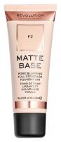 MAKEUP REVOLUTION - Matte Base Foundation - Podkład do twarzy - F2