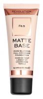 MAKEUP REVOLUTION - Matte Base Foundation - Podkład do twarzy - F6.5