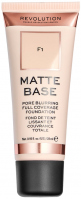 MAKEUP REVOLUTION - Matte Base Foundation - Podkład do twarzy