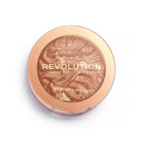 MAKEUP REVOLUTION - RE-LOADED HIGHLIGHTER - Rozśweitlacz do twarzy - TIME TO SHINE - TIME TO SHINE