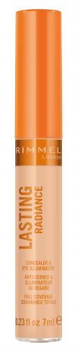 RIMMEL - LASTING RADIANCE - Concealer & Eye Illuminator - Korektor rozświetlający pod oczy i do twarzy
