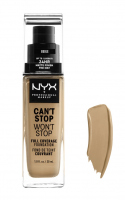 NYX Professional Makeup - CAN'T STOP WON'T STOP - FULL COVERAGE FOUNDATION - Podkład do twarzy - BEIGE - BEIGE