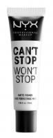 NYX Professional Makeup - CAN'T STOP WON'T STOP MATTE PRIMER - Matująca baza pod makijaż