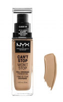 NYX Professional Makeup - CAN'T STOP WON'T STOP - FULL COVERAGE FOUNDATION - Podkład do twarzy - CLASSIC TAN - CLASSIC TAN