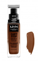 NYX Professional Makeup - CAN'T STOP WON'T STOP - FULL COVERAGE FOUNDATION - Podkład do twarzy - DEEP RICH - DEEP RICH