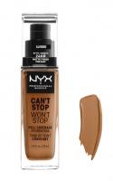 NYX Professional Makeup - CAN'T STOP WON'T STOP - FULL COVERAGE FOUNDATION - Podkład do twarzy - ALMOND - ALMOND