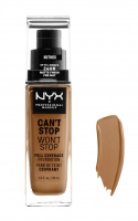 NYX Professional Makeup - CAN'T STOP WON'T STOP - FULL COVERAGE FOUNDATION - Podkład do twarzy - NUTMEG - NUTMEG