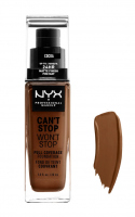NYX Professional Makeup - CAN'T STOP WON'T STOP - FULL COVERAGE FOUNDATION - Podkład do twarzy - COCOA - COCOA