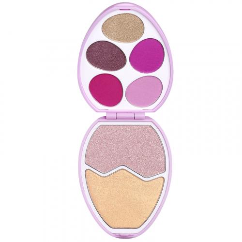 I Heart Revolution - Easter Egg Face and Shadow Palette - Zestaw do makijażu twarzy - CANDY