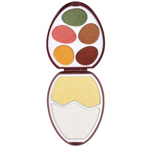 I Heart Revolution - Easter Egg Face and Shadow Palette - Zestaw do makijażu twarzy - CHOCOLATE