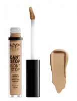 NYX Professional Makeup - CAN'T STOP WON'T STOP- CONCEALER - Korektor w płynie - NEUTRAL BUFF - NEUTRAL BUFF