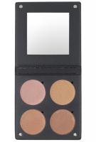 Make-Up Atelier Paris - STROBING KIT PALETTE - Paleta 4 cieni do strobingu - STRK1 - NUDE