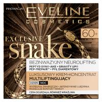 EVELINE - EXCLUSIVE SNAKE - Luksusowy krem-koncentrat multiliftingujący - 60+