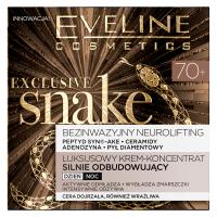 Eveline Cosmetics - EXCLUSIVE SNAKE - Luksusowy krem-koncentrat silnie odbudowujący - 70+