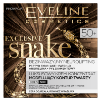 EVELINE - EXCLUSIVE SNAKE - Luksusowy krem-koncentrat modelujący kontur twarzy - 50+
