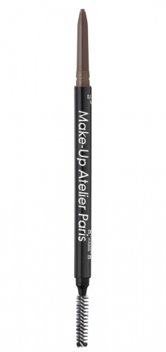 Make-Up Atelier Paris - Brow Pencil High Definition - Kredka do brwi ze szczoteczką