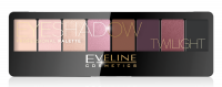 EVELINE - Eyeshadow Professional Palette - Paleta 8 cieni do powiek