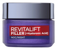 L'Oréal - REVITALIFT FILLER [HA] - Anti-age night cream with hyaluronic acid