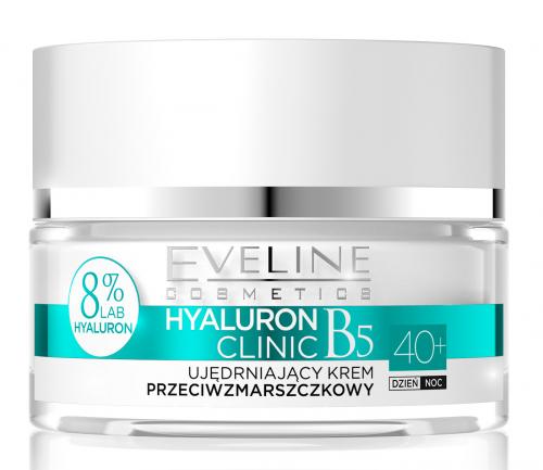 EVELINE - HYALURON CLINIC 40+ Ujędrniający krem przeciwzmarszczkowy do twarzy