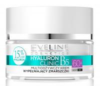 EVELINE - HYALURON CLINIC 60+  Multi nutrition wrinkles filling face cream