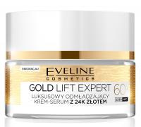 EVELINE - GOLD LIFT EXPERT - Luksusowy multi-odżywczy krem-serum z 24k złotem - 60+