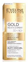 EVELINE - GOLD REVITA EXPERT - Ujędrniający krem-żel pod oczy i na powieki ze złotem - 30+/40+