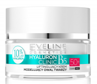 EVELINE - HYALURON CLINIC 50+ Lifting and face contouring cream