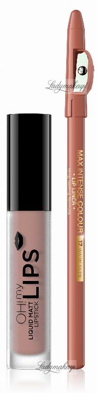 EVELINE - OH! My Lips - Matt Lip Kit - Shop 19.68 zł
