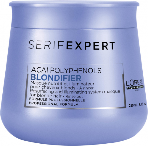 L'Oréal Professionnel - SERIE EXPERT - ACAI POLYPHENOLS - BLONDIFIER - Rozświetlająca maska do włosów blond - 250 ml