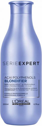 L'Oréal Professionnel - SERIE EXPERT - ACAI POLYPHENOLS - BLONDIFIER - Rozświetlająca odżywka do włosów blond - 200 ml