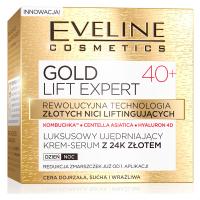 EVELINE - GOLD LIFT EXPERT - Luksusowy ujędrniający krem-serum z 24k złotem - 40+
