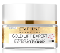 EVELINE - GOLD LIFT EXPERT - Luxurious firming cream-serum with 24k gold - 40+