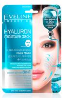 Eveline Cosmetics - HYALURON Moisture Pack Sheet Mask - Ultranawilżająca koreańska maska w płacie