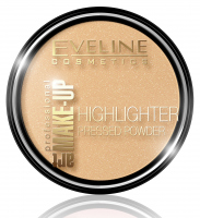 Eveline Cosmetics - ART MAKE-UP - HIGHLIGHTER PRESSED POWDER - Puder rozświetlający - 55 Golden