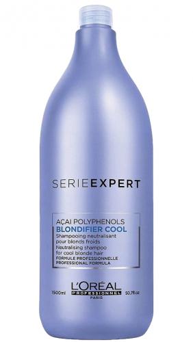 L'Oréal Professionnel - SERIE EXPERT - ACAI POLYPHENOLS - BLONDIFIER COOL - Szampon neutralizujący chłodny odcień blondu - 1500 ml
