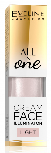 EVELINE - ALL IN OLE - Cream Face Illuminator - Kremowy rozświetlacz do twarzy