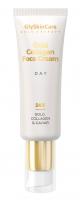 GlySkinCare - 24K GOLD, COLLAGEN & CAVIAR - Zestaw upominkowy kosmetyków do pielęgnacji twarzy - Krem na noc 50 ml + Serum ze złotem 50 ml + Krem na dzień 50 ml
