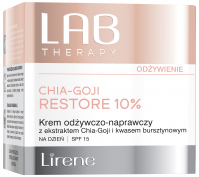Lirene - LAB THERAPY - CHIA-GOJI RESTORE 10% - Nourishing and repairing face cream for day use