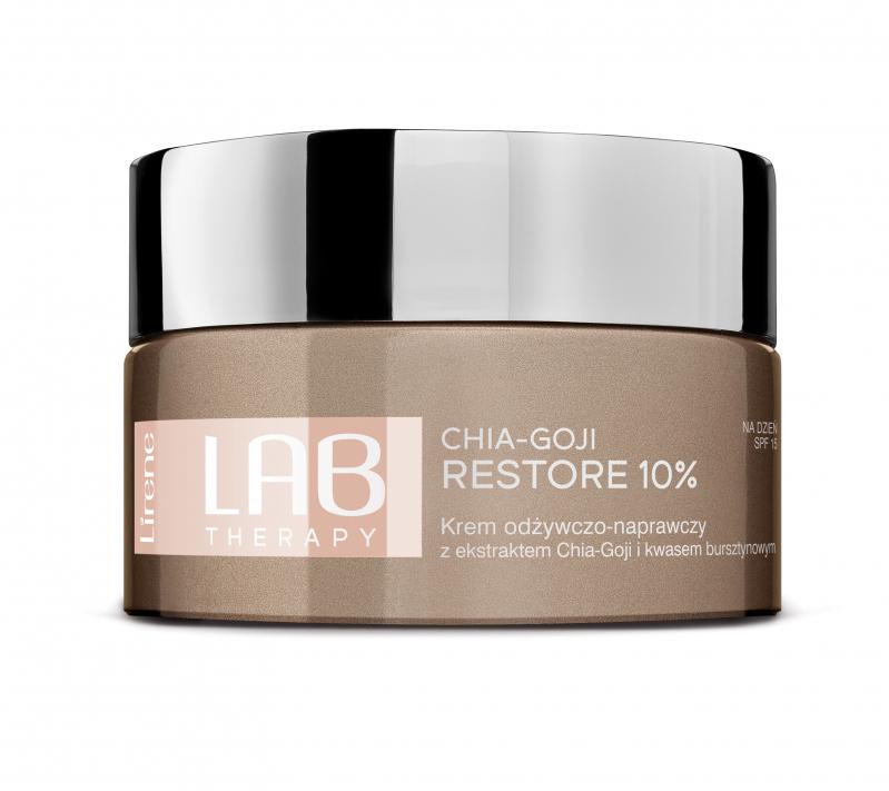 Lirene - LAB THERAPY - CHIA-GOJI RESTORE 10% - Nourishing..