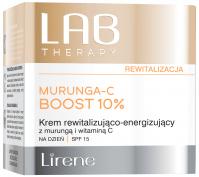 Lirene - LAB THERAPY - MURUNGA-C BOOST 10% - Rewitalizująco-energetyzujący krem do twarzy na dzień