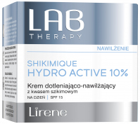 Lirene - LAB THERAPY - SHIKIMIQUE HYDRO ACTIVE 10% - Oxygenating and moisturizing day face cream