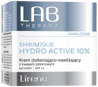 Lirene - LAB THERAPY - SHIKIMIQUE HYDRO ACTIVE 10% - Dotleniająco-nawilżający krem do twarzy na dzień