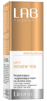Lirene - LAB THERAPY - OPTI RENEW 15% - Brightening and smoothing eye cream - Day/Night