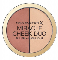 Max Factor - MIRACLE CHEEK DUO - Cream highlighter and blush