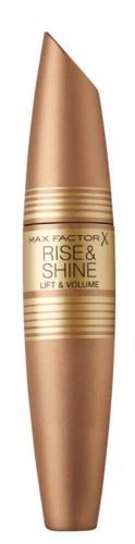 Max Factor - RISE & SHINE Lift & Volume Mascara - Podkręcający tusz do rzęs - 001 BLACK