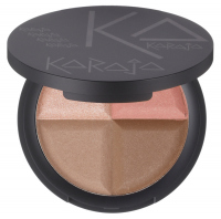 Karaja - Contour Quad Nude Face Powder - Paleta do konturowania twarzy i oczu - 20