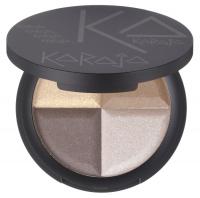 Karaja - Contour Quad Nude Palette Eyeshadow - Paleta 4 cieni - 10