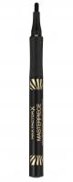 Max Factor - MASTERPIECE HIGH PRECISION LIQUID EYELINER - Eyeliner w pisaku - 01 VELVET BLACK - 01 VELVET BLACK