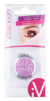 Inter-Vion - Cat-Eye LASHES - False eyelashes halves - 498920